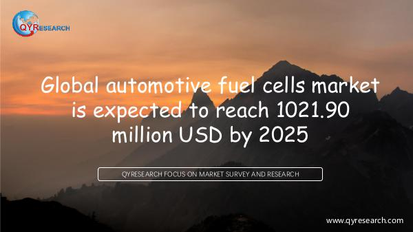 QYR Market Research Global automotive fuel cells market research