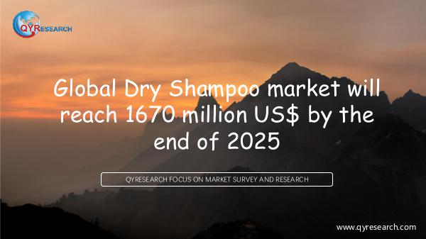 Global Dry Shampoo market research
