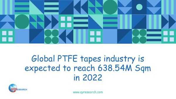 Global PTFE tapes industry analysis