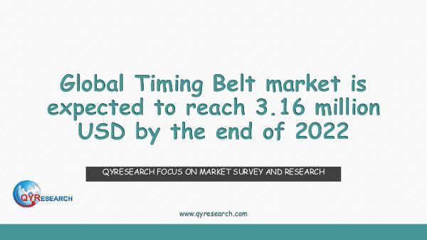 QYR Market Research Global Timing Belt market research