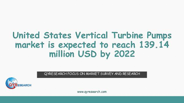 QYR Market Research United States Vertical Turbine Pumps market resear