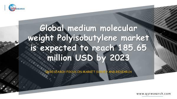 QYR Market Research Medium Molecular Weight Polyisobutylene Market