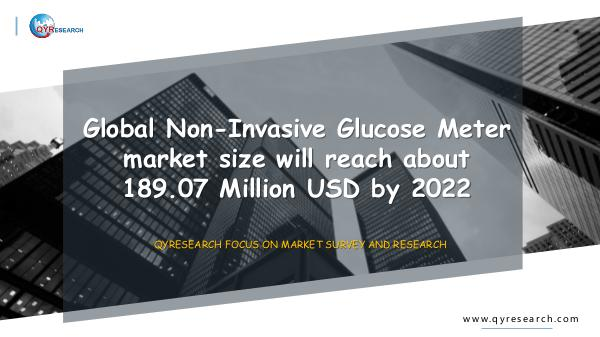 Global Non-Invasive Glucose Meter Market Research