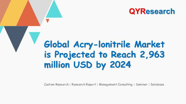 Global Acry-lonitrile Market Research