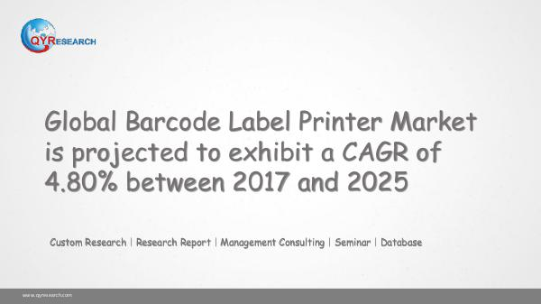 QYR Market Research Global Barcode Label Printer Market Research