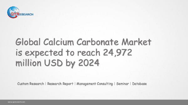 QYR Market Research Global Calcium Carbonate Market Research
