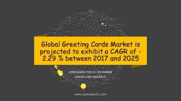 Global Greeting Cards Market Research