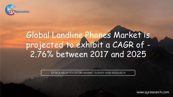 Global Landline Phones Market Research