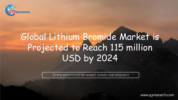 Global Lithium Bromide Market Research