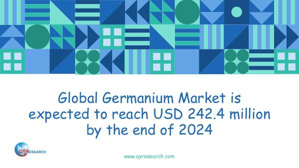 Global Germanium Market Research