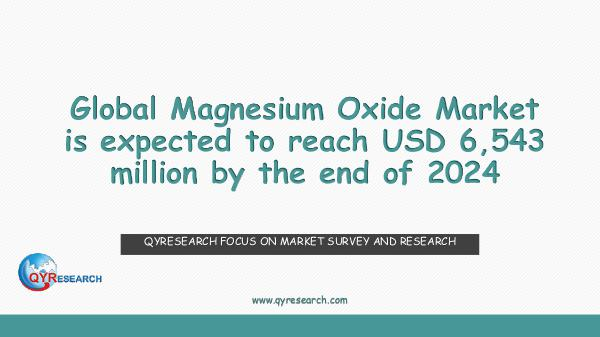 QYR Market Research Global Magnesium Oxide Market Research