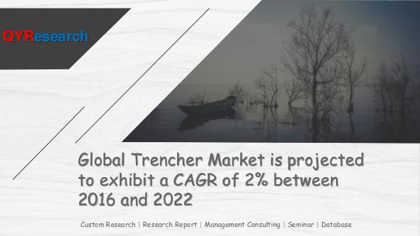 QYR Market Research Global Trencher Market Research
