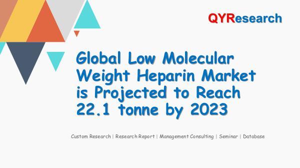 Global Low Molecular Weight Heparin Market