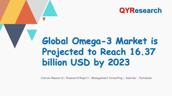 Global Omega-3 Market Research