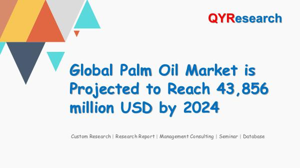 Global Palm Oil Market Research