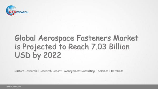 Global Aerospace Fasteners Market Research