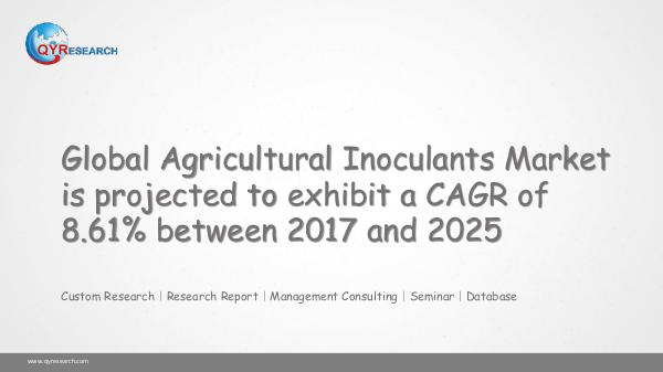 Global Agricultural Inoculants Market Research