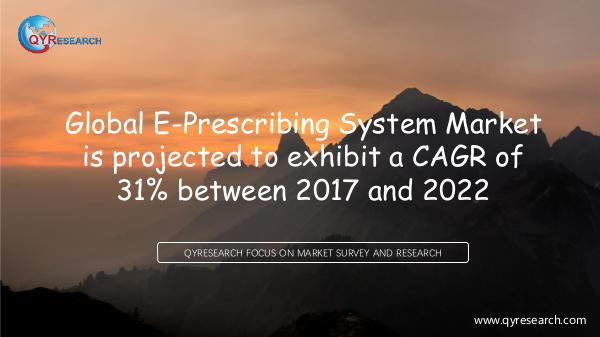 Global E-Prescribing System Market Research Report