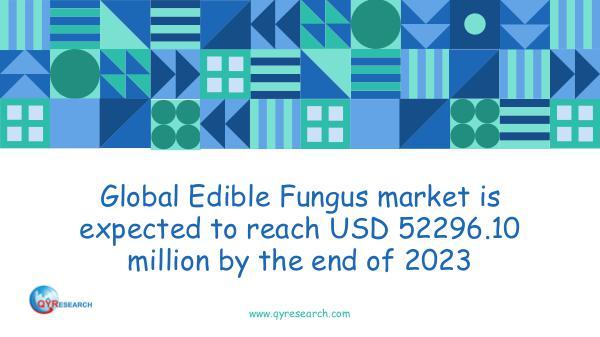 Global Edible Fungus market research