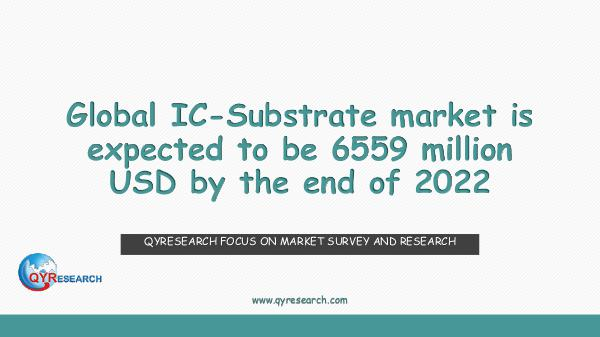 QYR Market Research Global IC-Substrate market research