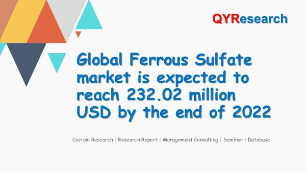 Global Ferrous Sulfate market research