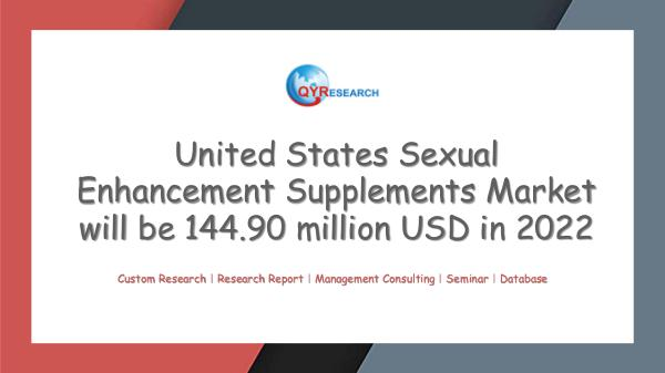 QYR Market Research United States Sexual Enhancement Supplements