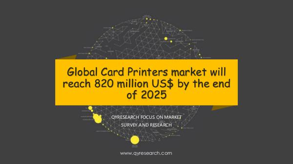 Global Card Printers market research