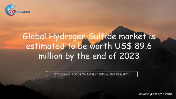 QYR Market Research Global Hydrogen Sulfide market research