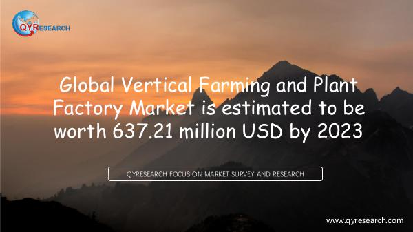 Global Vertical Farming and Plant Factory Market