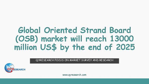 QYR Market Research Global Oriented Strand Board (OSB) market