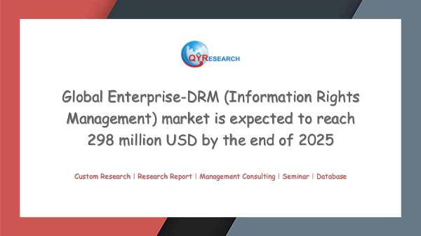 QYR Market Research Enterprise-DRM (Information Rights Management)