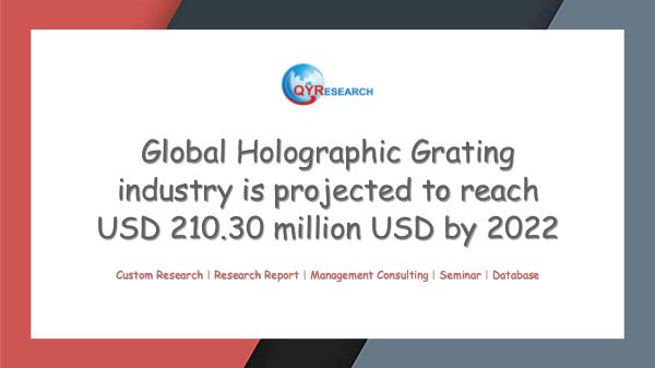 QYR Market Research Global Holographic Grating market research