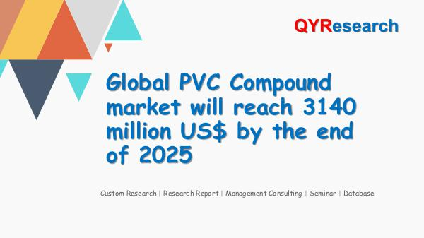 Global PVC Compound market research