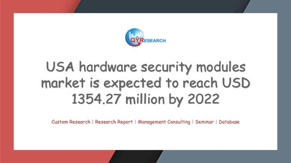QYR Market Research USA hardware security modules market research