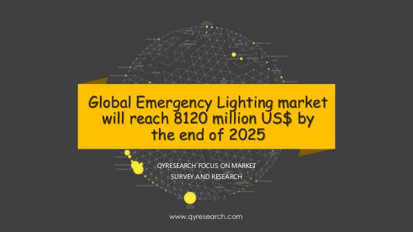 Global Emergency Lighting market research