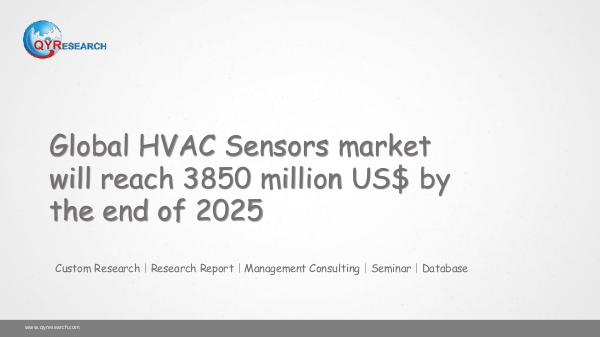 Global HVAC Sensors market research