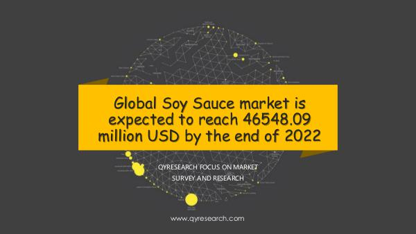 Global Soy Sauce market research