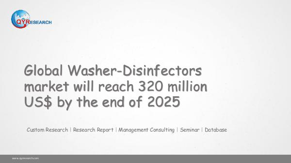 Global Washer-Disinfectors market research