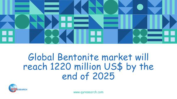 Global Bentonite market research report