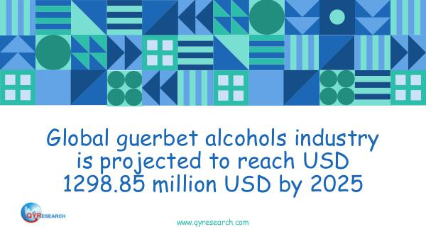 Global guerbet alcohols market research