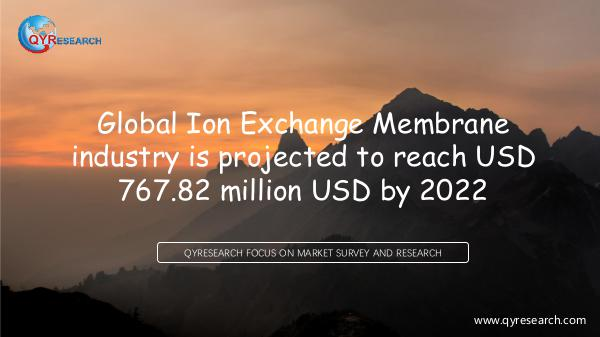 Global Ion Exchange Membrane market research
