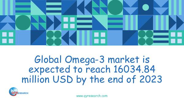 Global Omega-3 market research