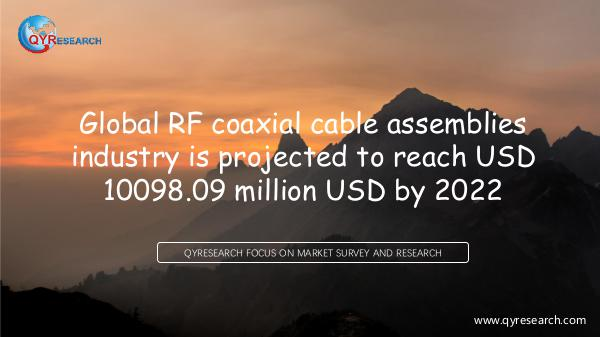 Global RF coaxial cable assemblies market research