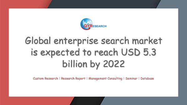 QYR Market Research Global enterprise search market research
