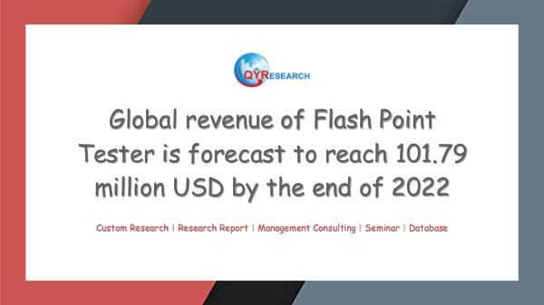QYR Market Research Global Flash Point Tester Market Research