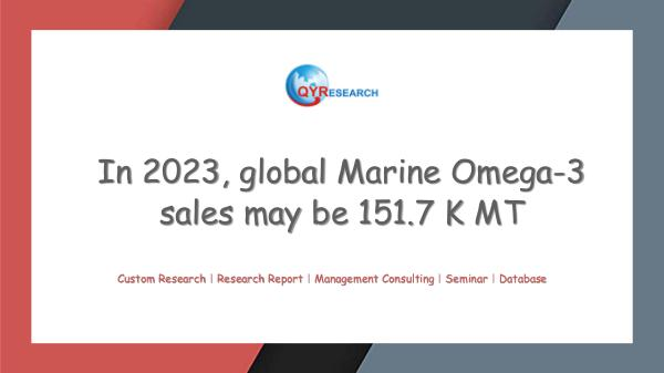 QYR Market Research Global Marine Omega-3 Market Research