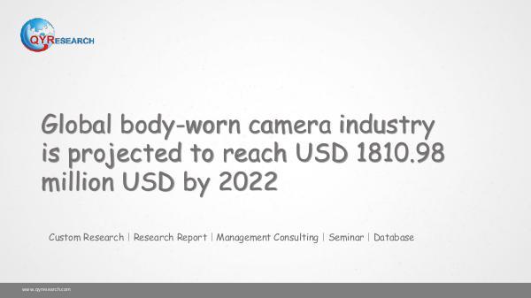 Global body-worn camera market research