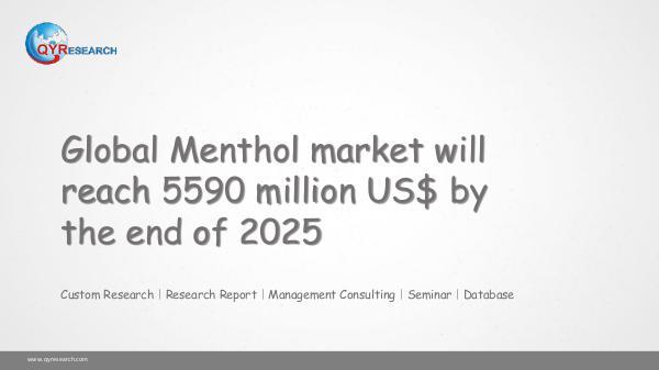 Global Menthol market research