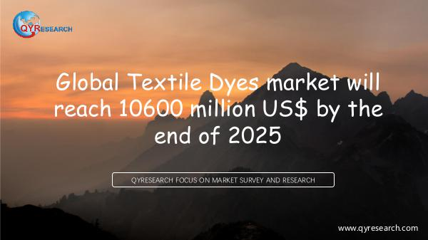 Global Textile Dyes market research
