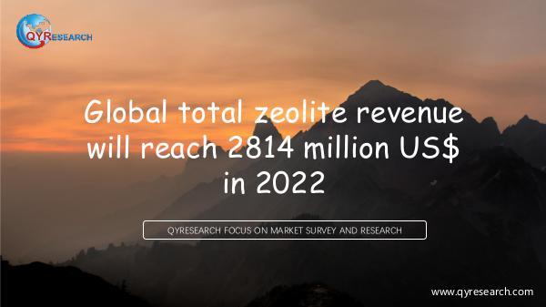 Global Zeolite Market Research